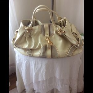 Vintage Juicy Couture leather large bag.